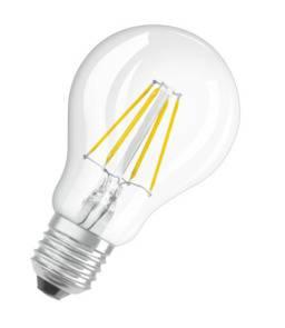 Żarówka LED E27 RF A60 7W=60W przezroczysta dekoracyjna OSRAM