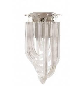 Kinkiet Orte BL0200 Berella Light transparentna oprawa ścienna w nowoczesnym stylu