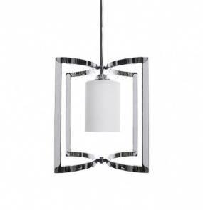 Lampa wisząca Moli 1 BL0411 Berella Light nowoczesna oprawa wisząca w kolorze chromu