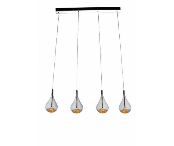 Lampa wisząca Perle P0226-04H-B5RK Zuma Line Poczwórna nowoczesna lampa wisząca