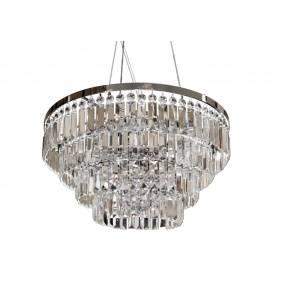 Lampa wisząca Salerno XL AZ2927 AZzardo dekoracyjna oprawa w kryształowym stylu