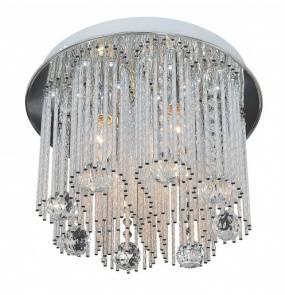 Plafon AZAHAR 4L C5116-4C Auhilon lampa sufitowa o wyjątkowym kryształowym wykończeniu