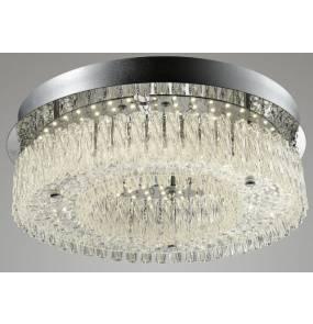 Palfon OPRA 18W C1120-18R Auhilon lampa sufitowa o kryształowym wykończeniu