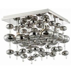 Plafon INFINITY 4SQ C9557-4SQ Auhilon lampa sufitowa w kolorze chromu