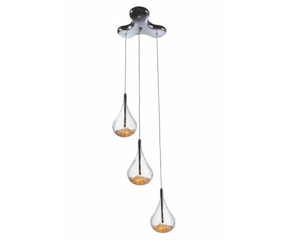 Lampa wisząca Perle P0226-03B-F4RK Zuma Line nowoczesna asymetryczna oprawa wisząca