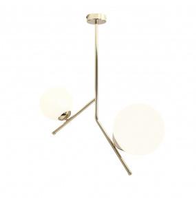 Lampa wisząca LUNA 1011PL/H30 Aldex designerska złota oprawa zwieszana