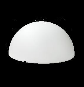 Lampa ogrodowa Clouds LP-3519-600 Light Prestige nowoczesna lampa zewnętrzna w kolorze białym