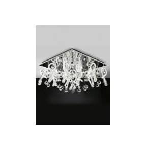 Plafon Class 20 LP-0726/20 Light Prestige nowoczesna lampa sufitowa w kolorze chromu