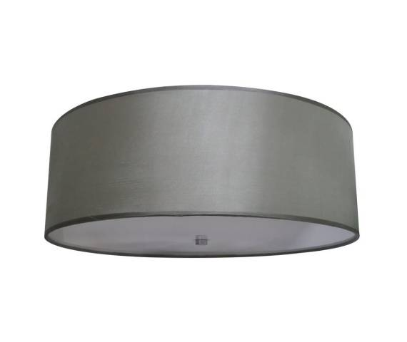 Plafon Girona 80 LP-2190/6C-80 Light Prestige elegancka lampa sufitowa w kolorze szarym