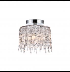 Plafon Gelato LP-2685/3C Light Prestige elegancka lampa sufitowa z transparentnym wykończeniem