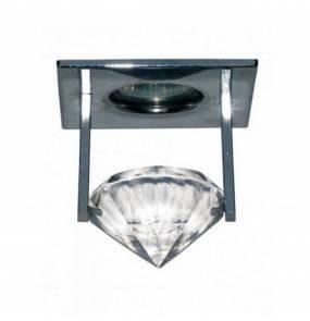 Oczko stropowe Eris LP-XD-2050-1-FT Light Prestige elegancka oprawa w kolorze srebrnym