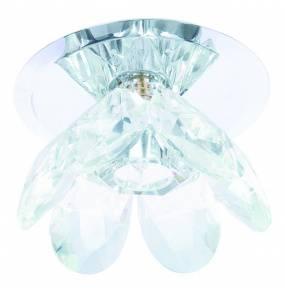 Oczko stropowe Wenus LP-10221/H28 L nowoczesna oprawa z motywem roślinnym