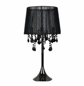 Lampa biurkowa Mona LP-5005/1T Light Prestige elegancka oprawa w kolorze czarnym