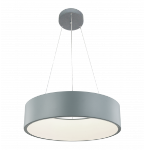Lampa wisząca Malaga LP-622/1P Light Prestige nowoczesna oprawa w kolorze szarym