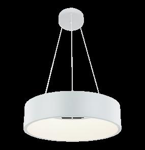 Lampa wisząca Malaga LP-622/1P Light Prestige nowoczesna oprawa w kolorze białym