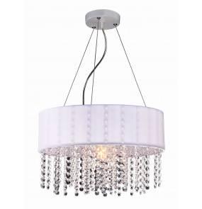 Lampa wiszaca Madryt LP-81458/1P Light Prestige elegancka oprawa w kolorze białym