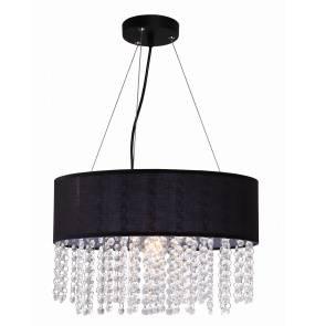 Lampa wisząca Madryt LP-81458/1P Light Prestige elegancka oprawa w kolorze czarnym