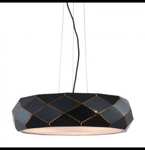 Lampa wisząca Reus LP-8069/1P Light Prestige nowoczesna oprawa w kolorze czarnym