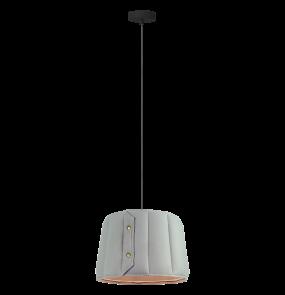 Lampa wisząca Vitoria LP-6030/1P L Light Prestige nowoczesna oprawa w kolorze szarym