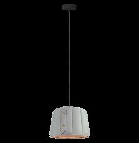 Lampa wisząca Vitoria LP-6030/1P S Light Prestige nowoczesna oprawa w kolorze szarym