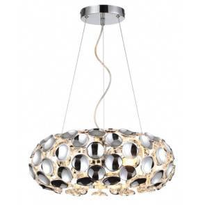 Lampa wisząca Ferrara LP-17060/3P Light Prestige elegancka oprawa w kolorze chromu