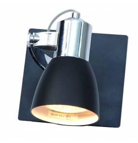 Kinkiet Rawenna LP-727/1W Light Prestige nowoczesna lampa ścienna w kolorze czarnym