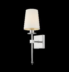 Kinkiet Casoli LP-2118/1W Light Prestige klasyczna lampa ścienna w kolorze chromu