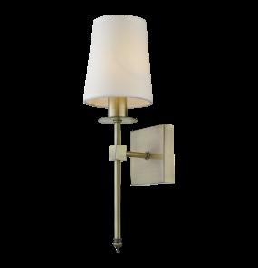 Kinkiet Casoli LP-2118/1W Light Prestige klasyczna lampa ścienna w kolorze patyny