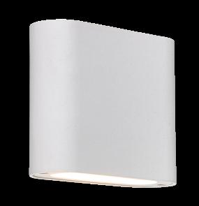 Kinkiet Sapri LP-1556/1W WH Light Prestige biała lampa ścienna w stylu minimalistycznym