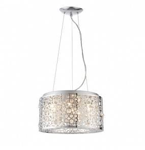 Lampa wisząca Fayola 81975 Endon ażurowa nowoczesna oprawa w kolorze chromu