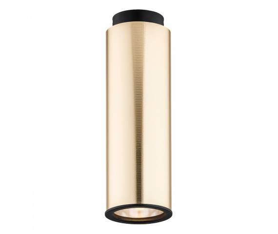 Plafon tuba złota LINEA 4281 nowoczesna tuba złota