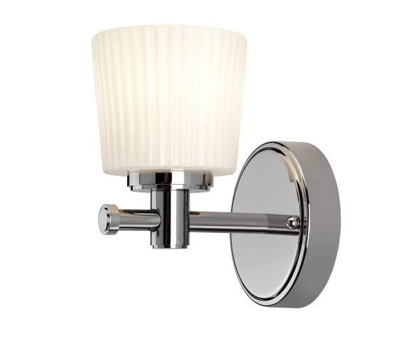 Kinkiet łazienkowy Binstead BATH/BN1 Elstead Lighting klasyczna oprawa s kolorze chromu