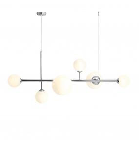 Lampa wisząca DIONE 1092K4 Aldex chromowa oprawa w stylu nowoczesnym
