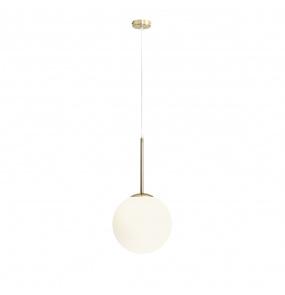Lampa wisząca BOSSO 1087G30 Aldex złota oprawa w stylu nowoczesnym
