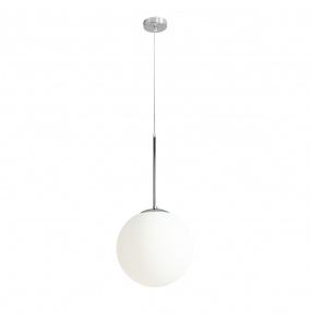 Lampa wisząca BOSSO 1087G4 Aldex chromowa oprawa w stylu nowoczesnym