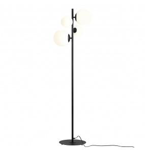 Lampa podłogowa BALIA 1039A1 Aldex czarna oprawa w stylu nowoczesnym