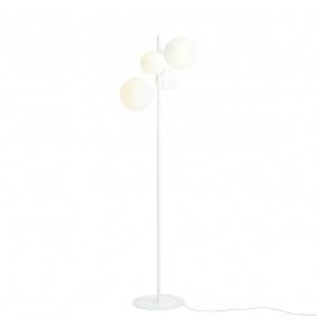 Lampa podłogowa BALIA 1039A Aldex biała oprawa w stylu nowoczesnym
