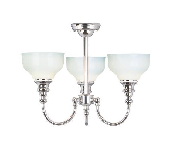 Lampa wisząca Cheadle BATH/CD3 Elstead Lighting klasyczna oprawa łazienkowa w kolorze chromu