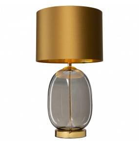 Lampa stołowa SALVADOR 41042105 KASPA nowoczesna oprawa w kolorze starego złota