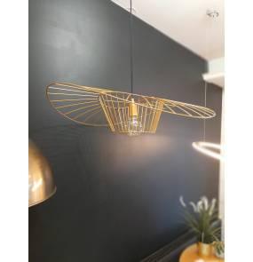 Lampa wisząca Chapeau Oro 80 2713 GD dekoracyjna lampa w kolorze złotym ARTEMODO