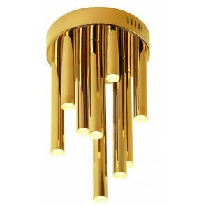 Plafon ORGANIC C0197D Maxlight oprawa sufitowa w kolorze złota