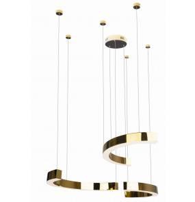 Lampa wisząca LOTUS PO394 MAXlight nowoczesna oprawa w kolorze złotym