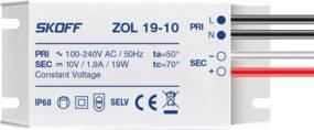 Zasilacz ZOL19-10 10V IP68 19W SKOFF