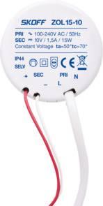 Zasilacz ZOL15-10 10V IP68 15W SKOFF