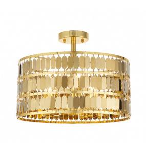Plafon Eldora 81964 Endon złota oprawa w stylu nowoczesnym