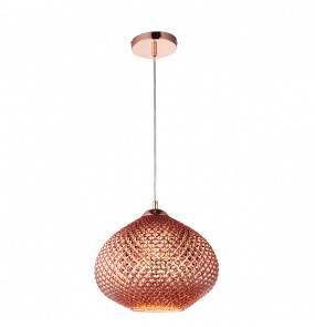 Lampa wisząca Livia 77094 Endon miedziana oprawa w stylu nowoczesnym