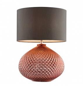 Lampa biurkowa Livia 77097 Endon miedziana oprawa w stylu nowoczesnym