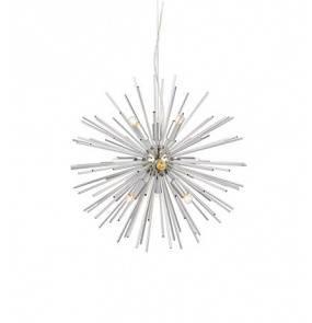 Lampa wisząca Soleil 108049 Markslojd srebna nowoczesna oprawa wisząca