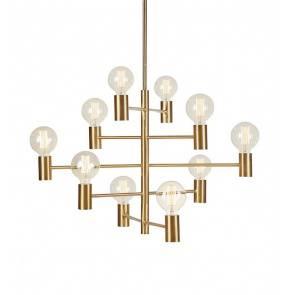 Lampa wisząca PARIS Pendant 10L Dark Brass 108117 Markslojd nowoczesna oprawa wisząca