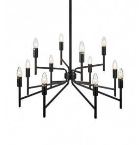 Lampa wisząca REGENT Pendant 12L Painted Black 108107 Markslojd nowoczesna oprawa wisząca